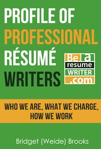 Profile of Professional Resume Writer